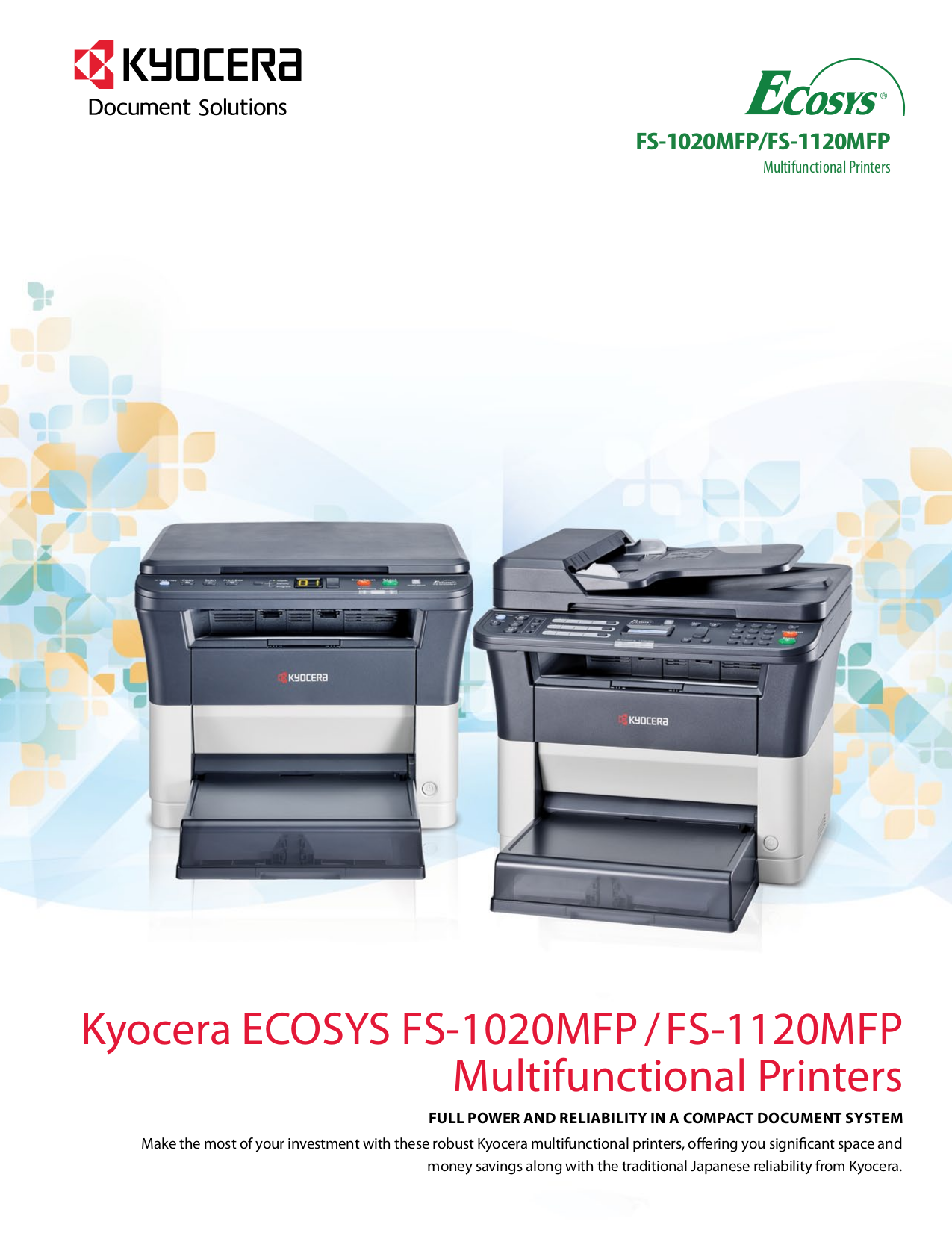 Fs-1020mfp kyocera pdf инструкция на русском