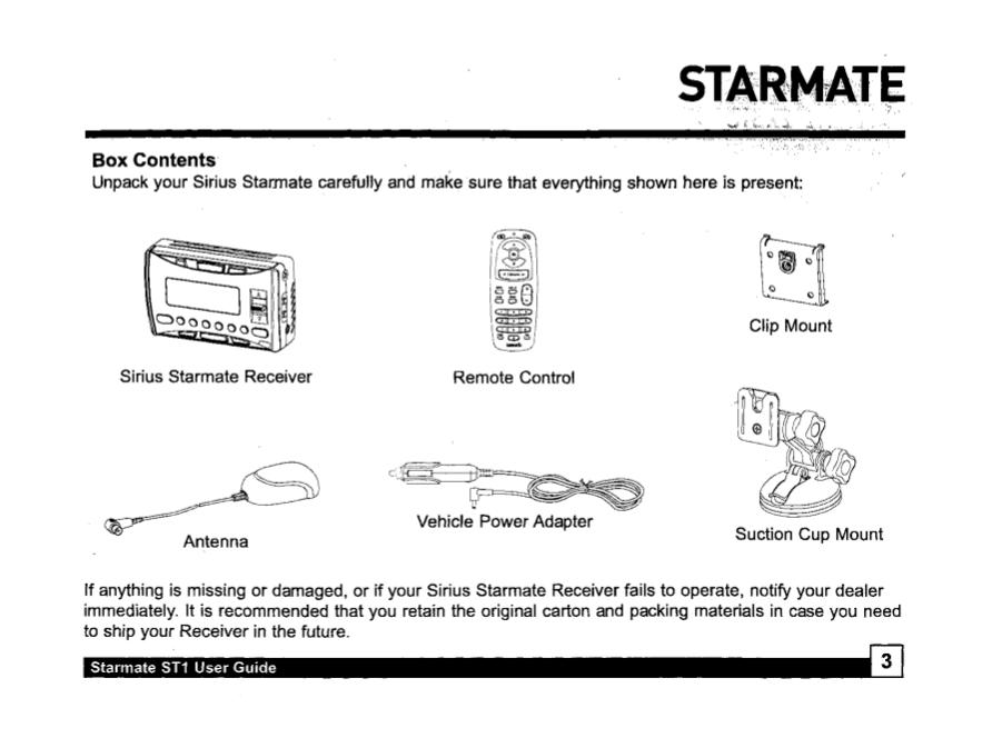 pdf manual for sirius satellite radio st1 rh umlib com Sirius Starmate 7 Review Sirius ST2R