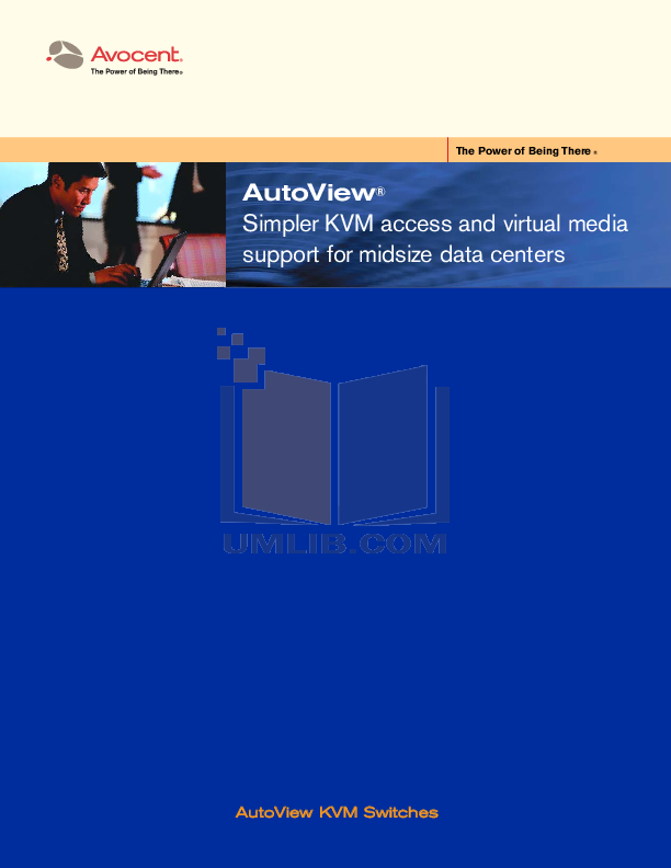 pdf for Avocent Switch AutoView AutoView 1500 manual