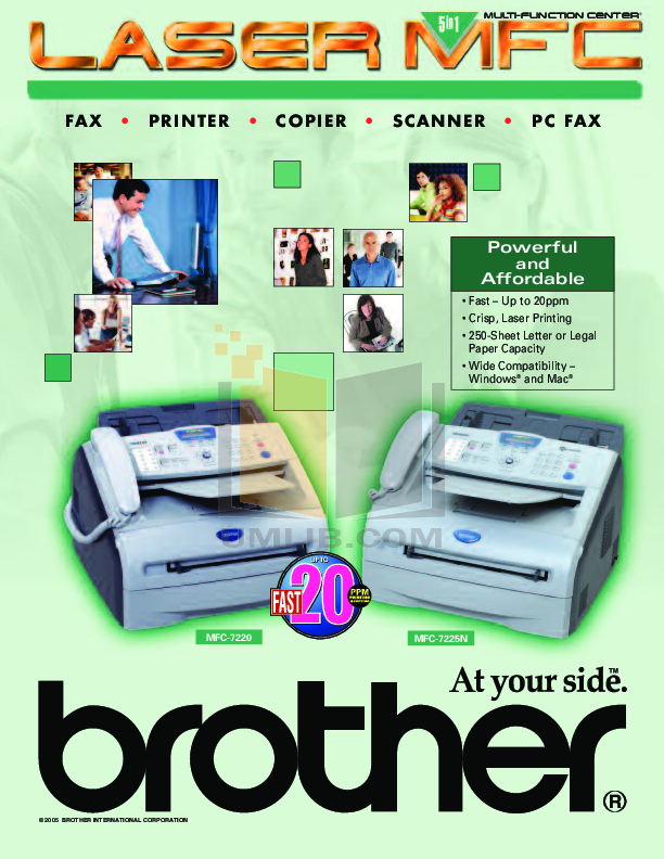 Brother 7220 manual.