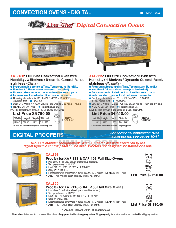 Cadco Grill CPG-20 pdf page preview