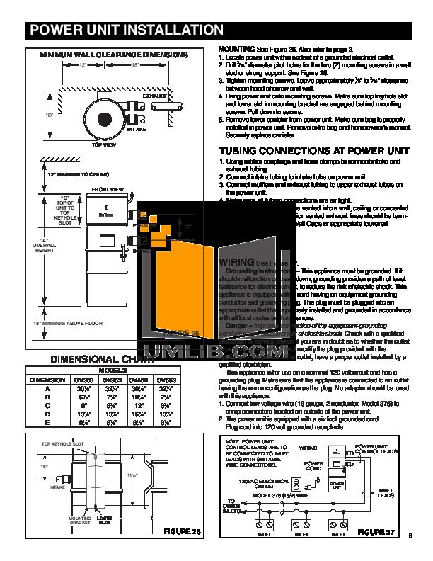 Nutone Cv353 Wiring Diagram - Wiring Diagram And Schematics