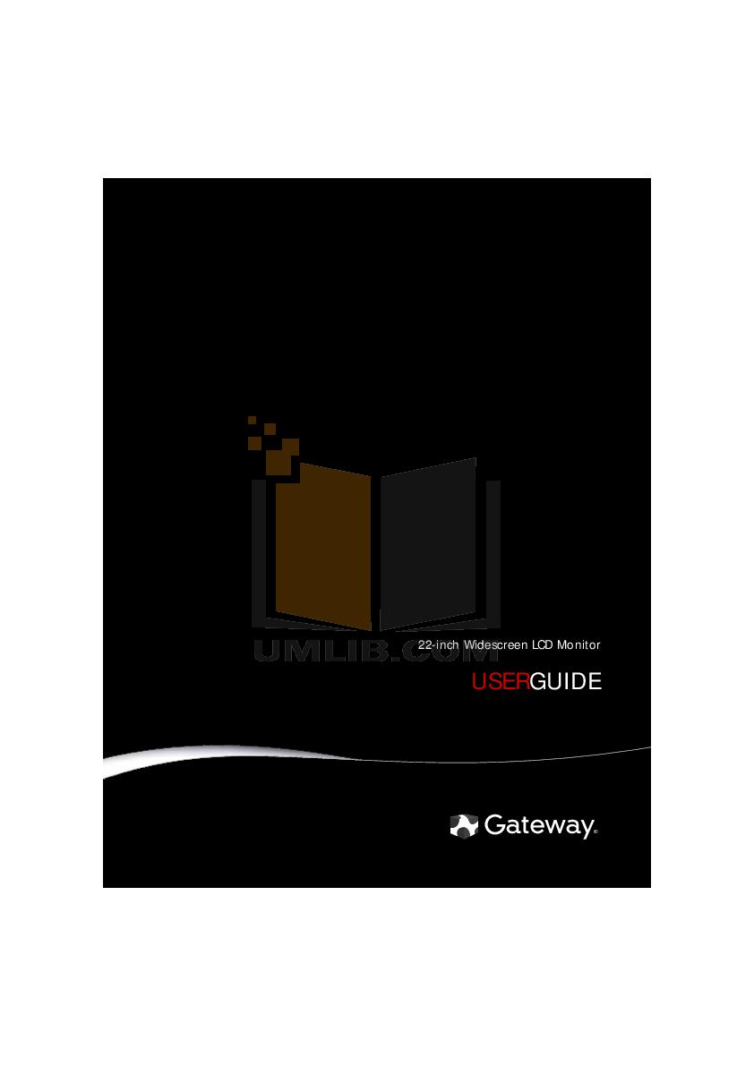download free pdf for gateway hd2201 monitor manual rh umlib com gateway lp2407 monitor manual gateway 2100 monitor manual
