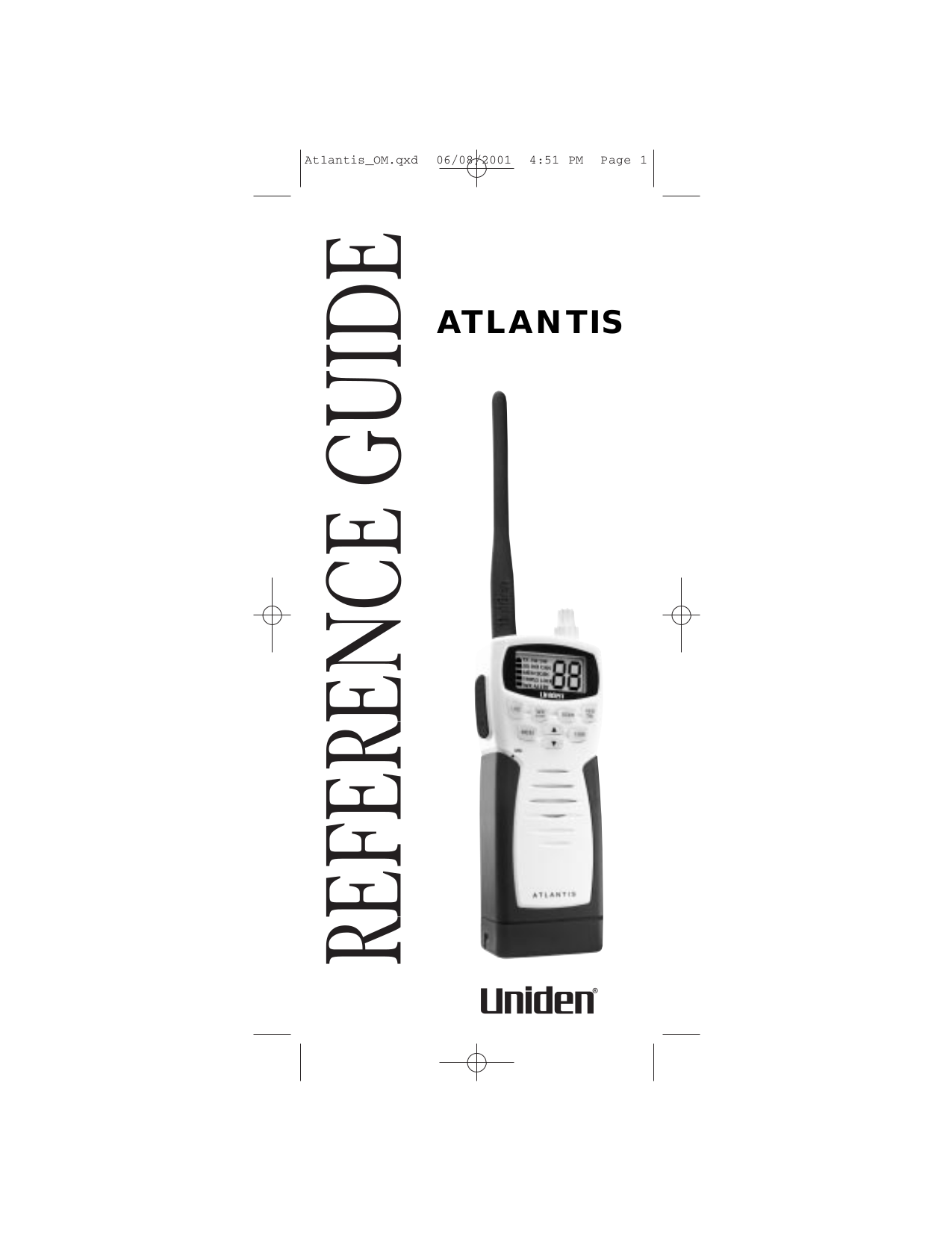 pdf for Uniden 2-way Radio ATLANTIS manual