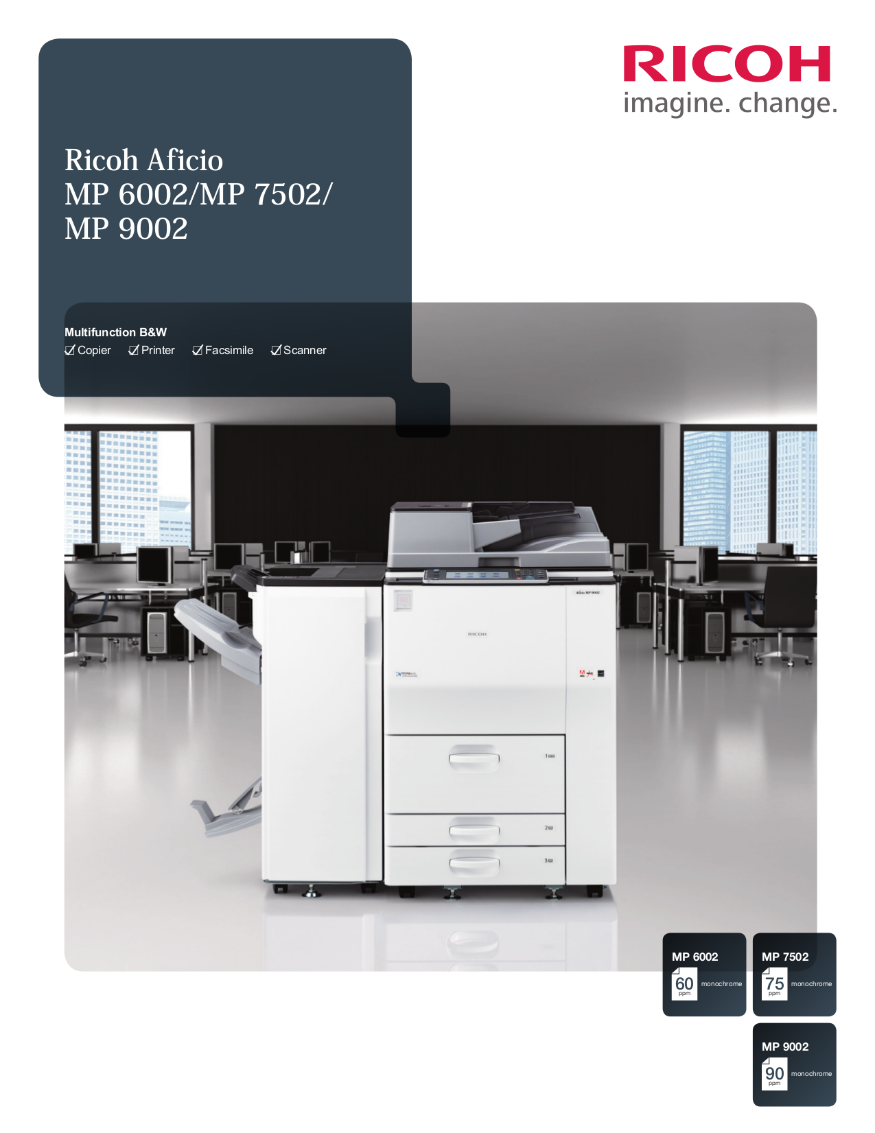 pdf for Ricoh Multifunction Printer Aficio 120 manual
