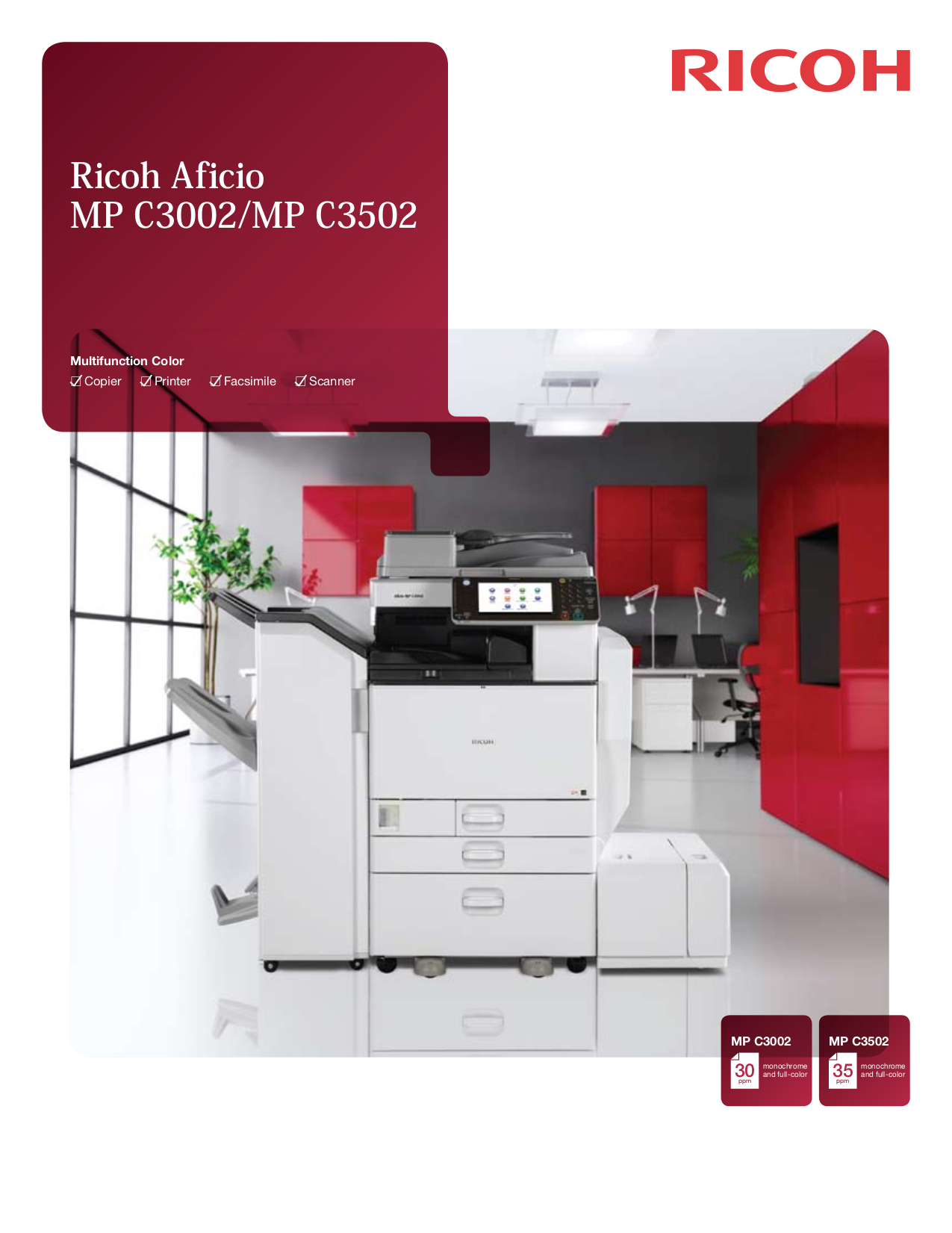 pdf for Ricoh Multifunction Printer Aficio 120 manual