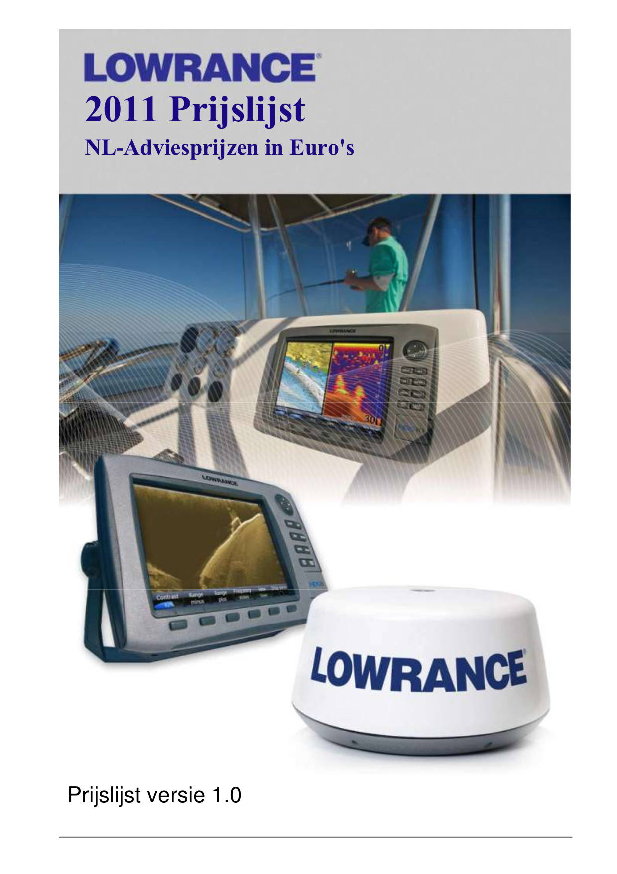 pdf for Lowrance GPS LMS-330C manual