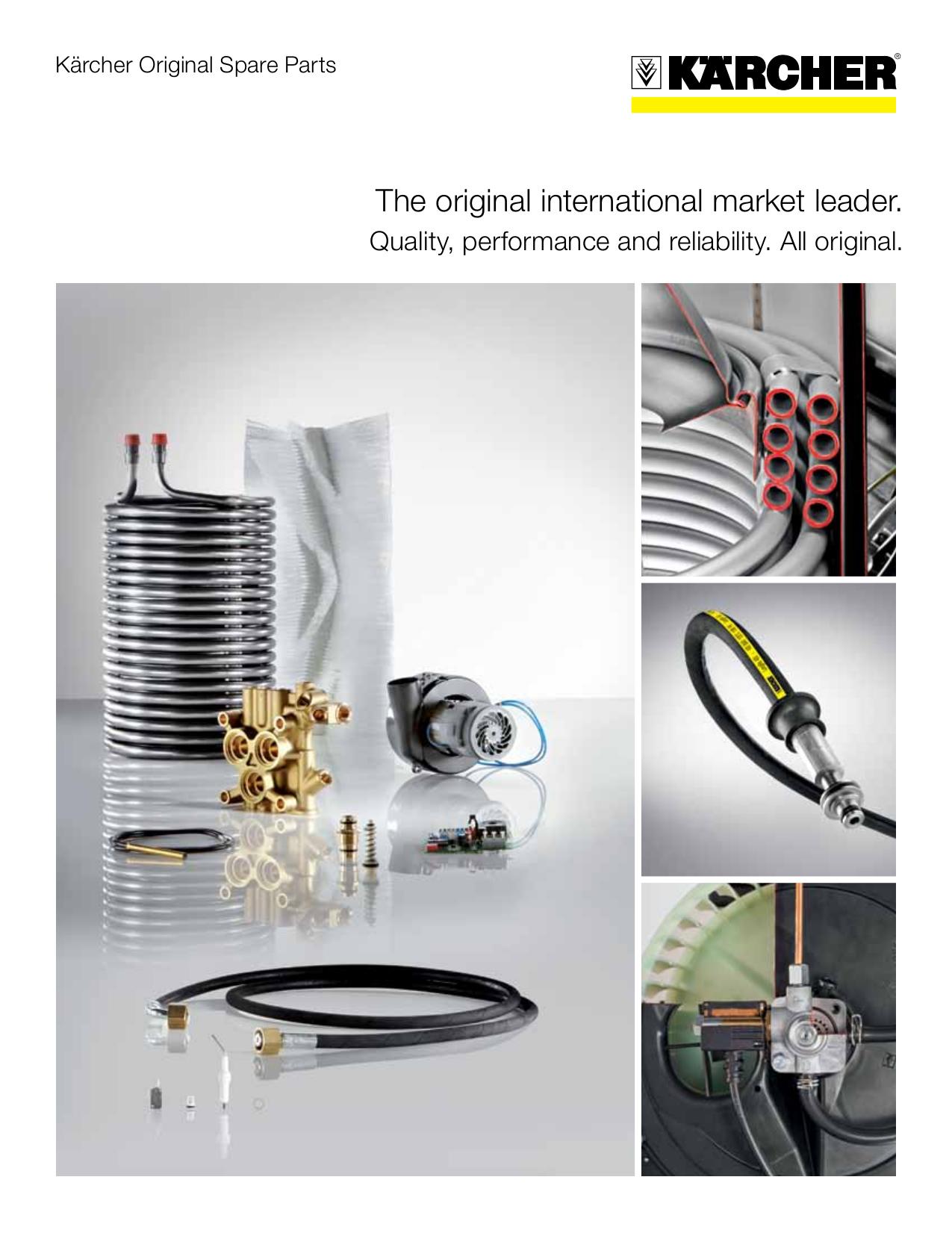 Download free pdf for Karcher K 5 50 M Pressure Washers