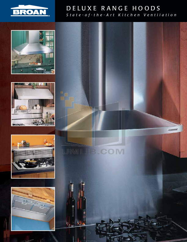 pdf for Broan-NuTone Other 64000 Series 644204 Hoods manual
