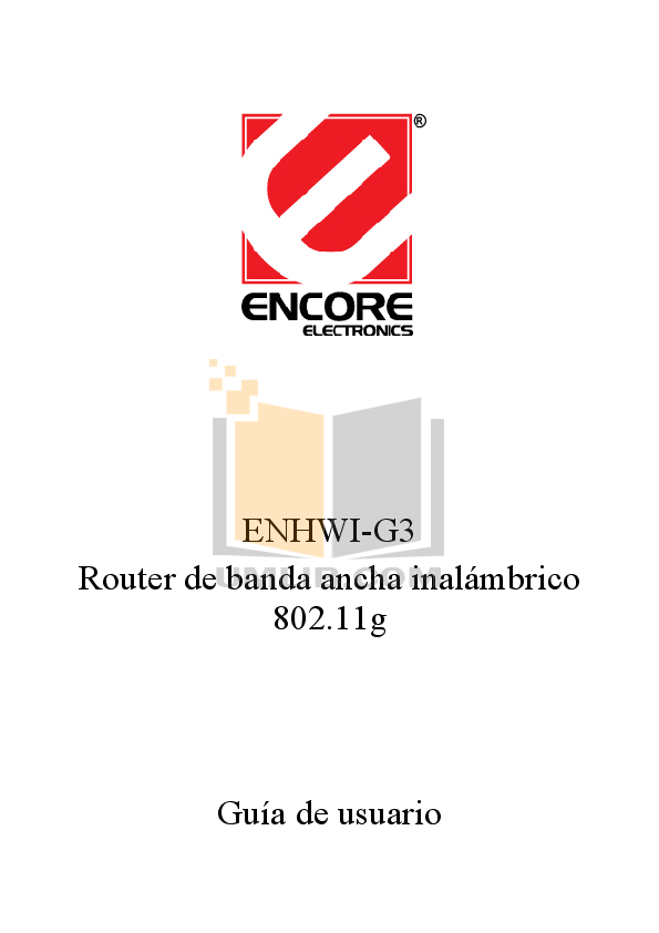 pdf for Encore Wireless Router ENHWI-SG manual