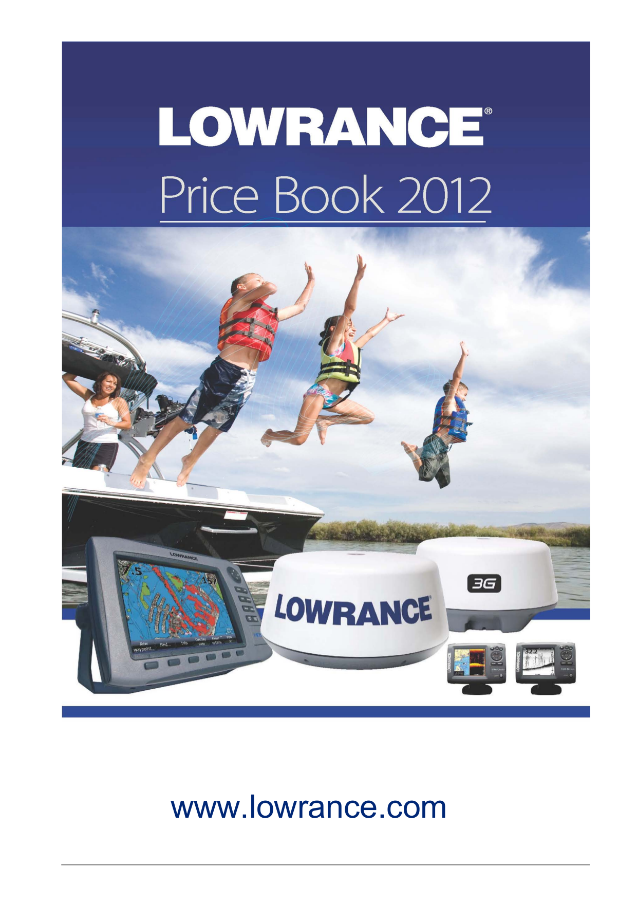 Lowrance GPS LCX-111C HD pdf page preview