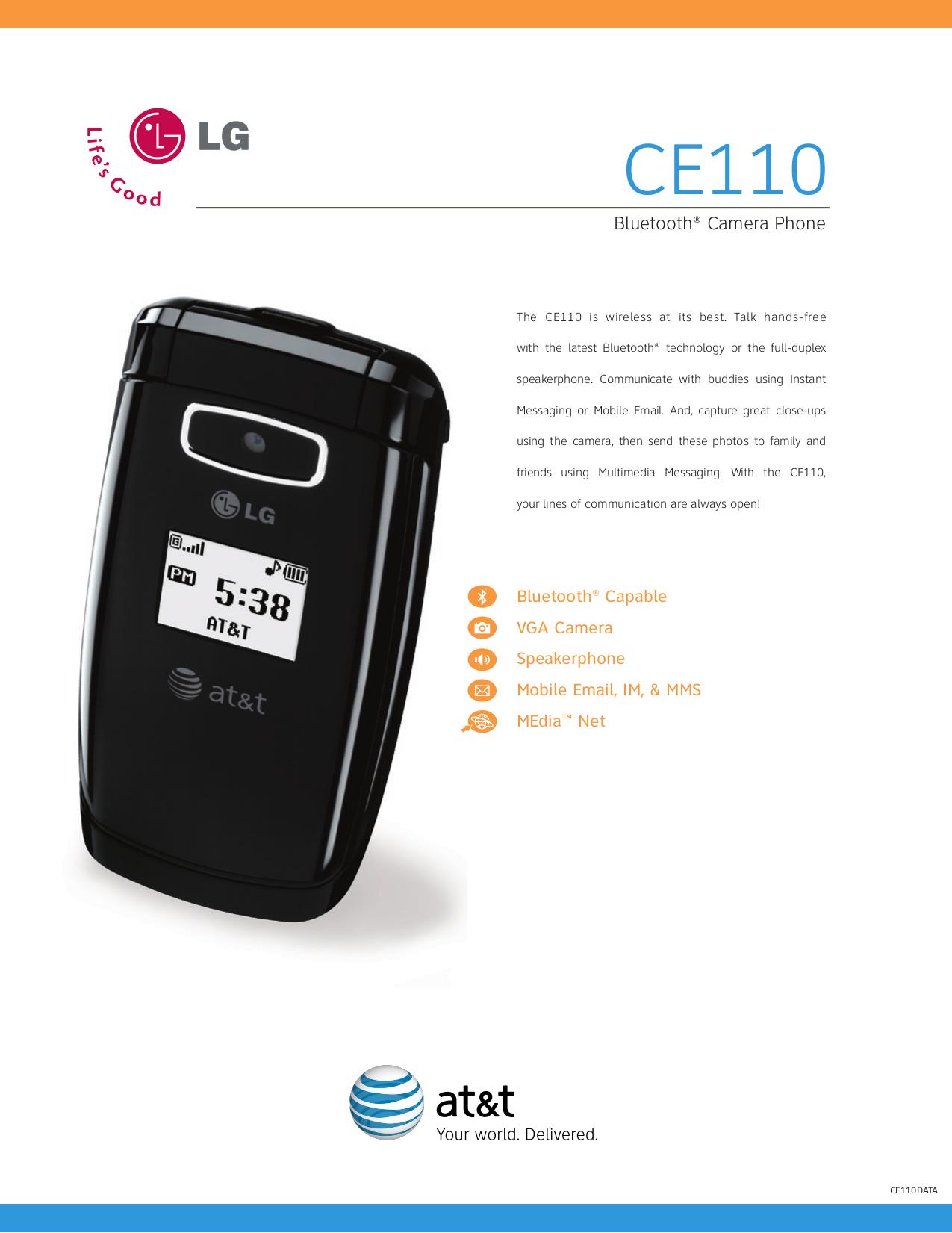 download free pdf for lg ce110 cell phone manual rh umlib com LG Chocolate 3 LG Vu
