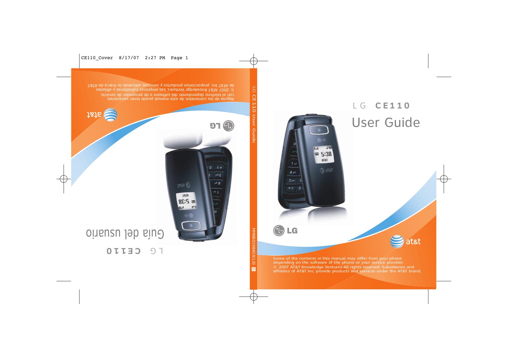 download free pdf for lg ce110 cell phone manual rh umlib com LG CF360 LG CF360