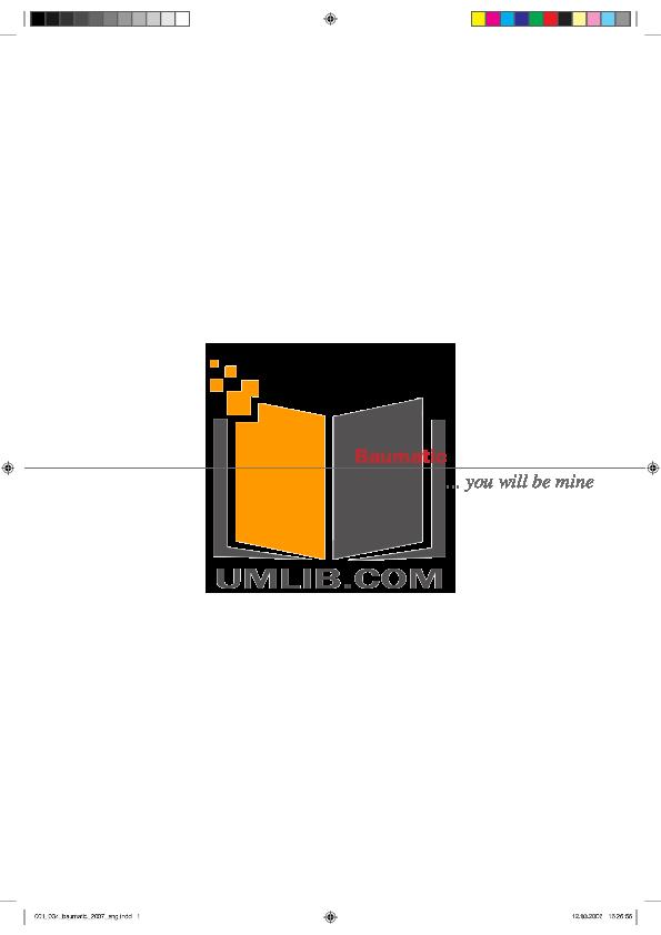 pdf for Baumatic Freezer TITAN2 manual