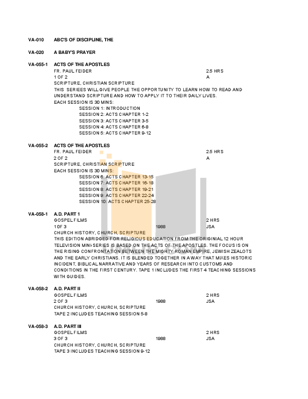 pdf for Eaw Speaker System VB125 manual