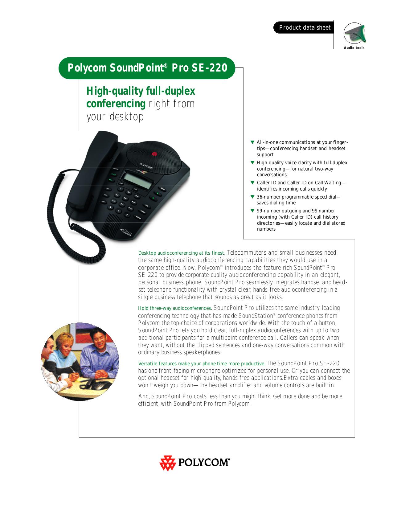 download free pdf for polycom soundpoint pro se 220 telephone manual rh umlib com Polycom SoundPoint Pro SE-225 polycom soundpoint pro se-225 corded phone manual