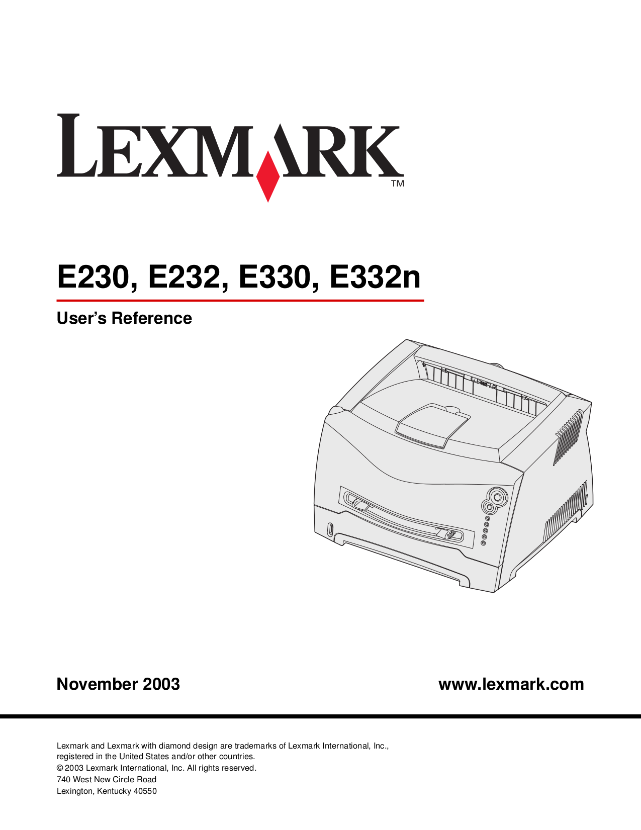 pdf for Lexmark Printer Z735 manual