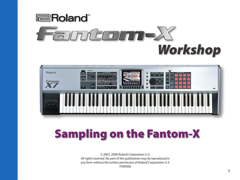 how to use the roland fantom plugins