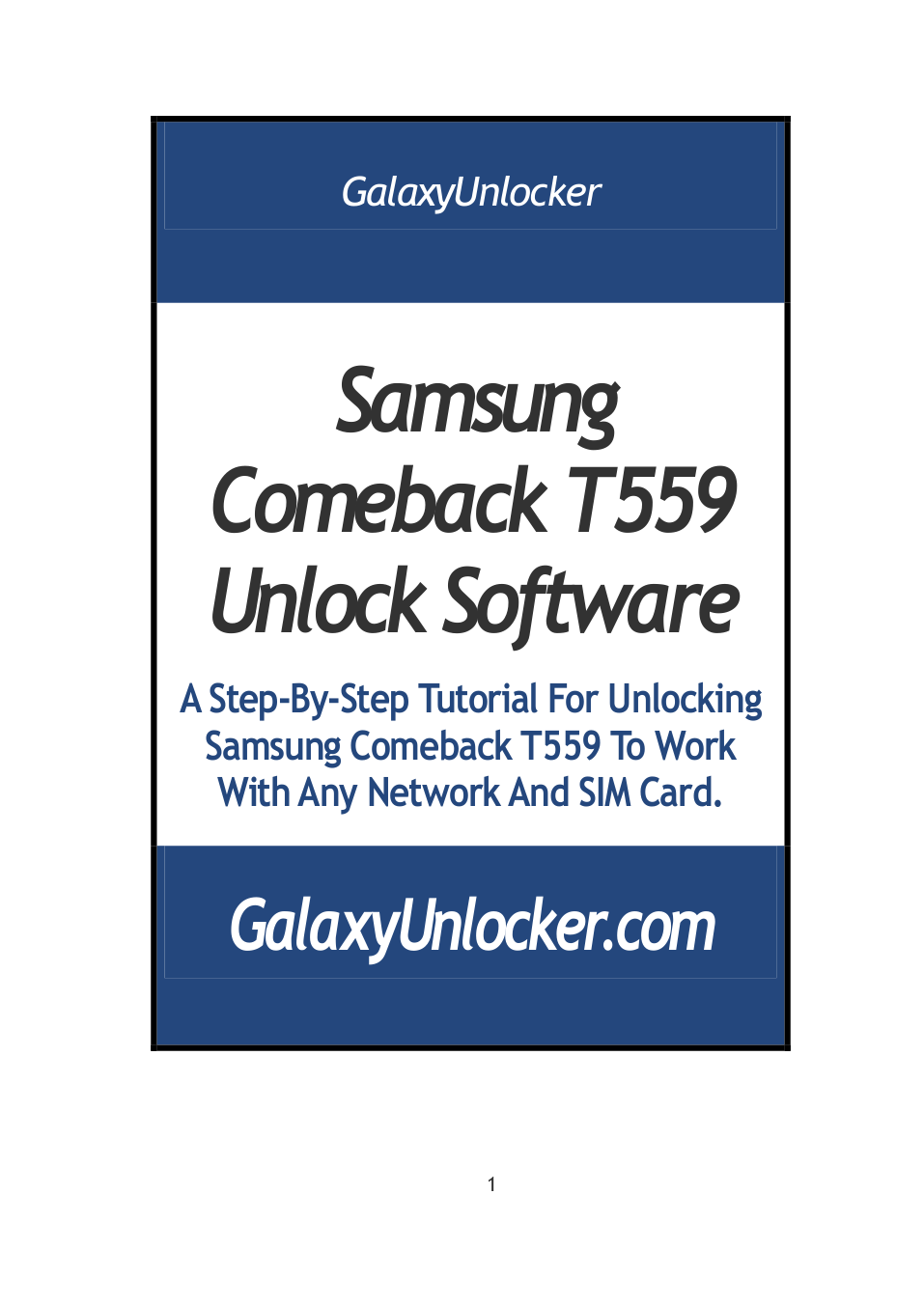pdf for Samsung Cell Phone Comeback manual
