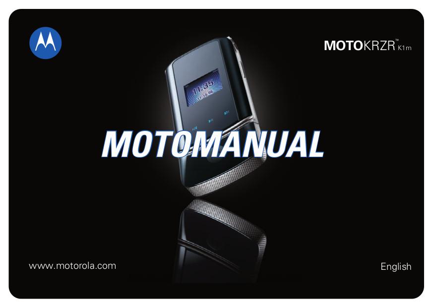 download free pdf for motorola krzr k1 cell phone manual rh umlib com motorola krzr k1 manual pdf Motorola U6