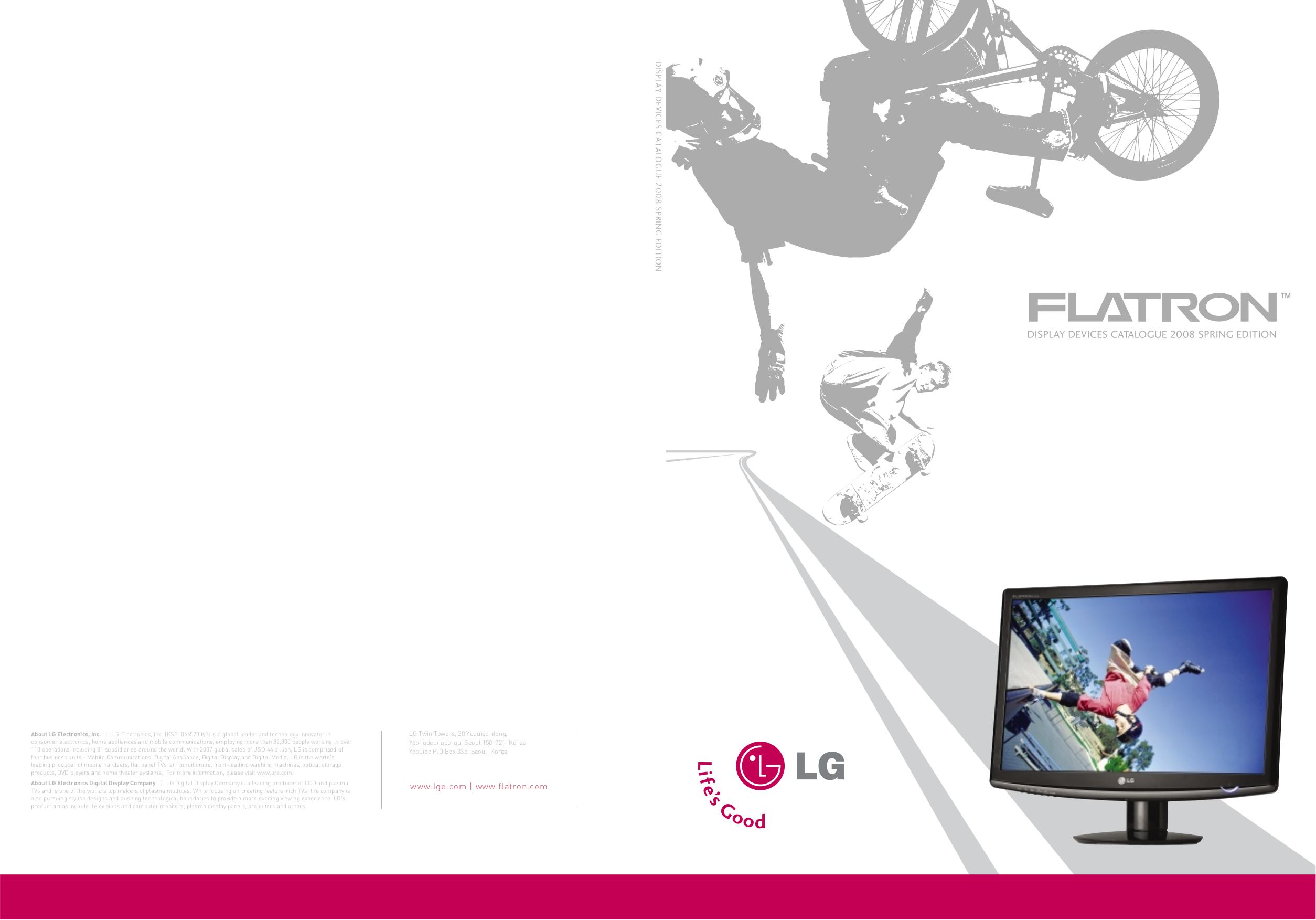pdf for LG Monitor W2252V manual