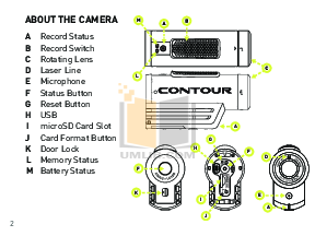 pdf manual for contour camcorders contour hd rh umlib com Camer Mount Contour Roam 2 Bottom Contour Roam 2 Specs