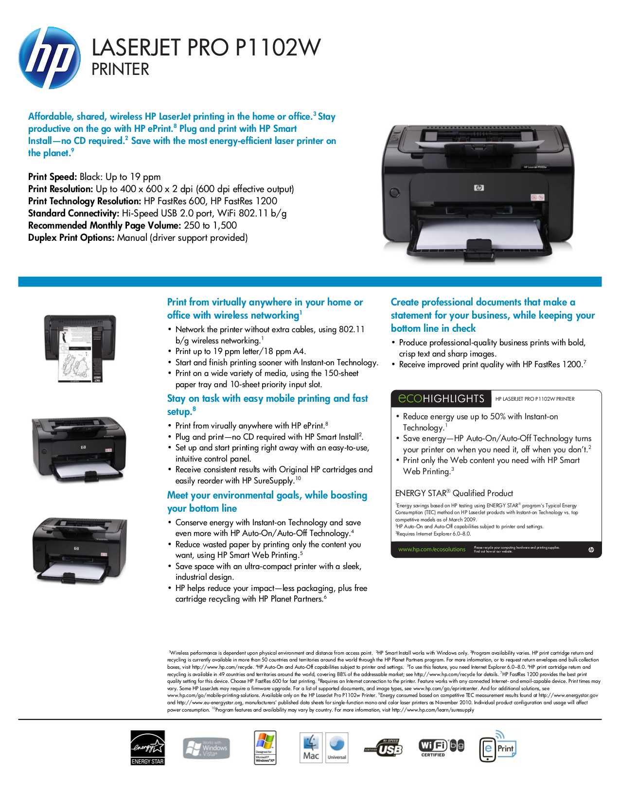 download free pdf for hp laserjet color laserjet pro p1102w printer rh umlib com HP LaserJet P1102w Problems Install HP LaserJet P1102w Printer