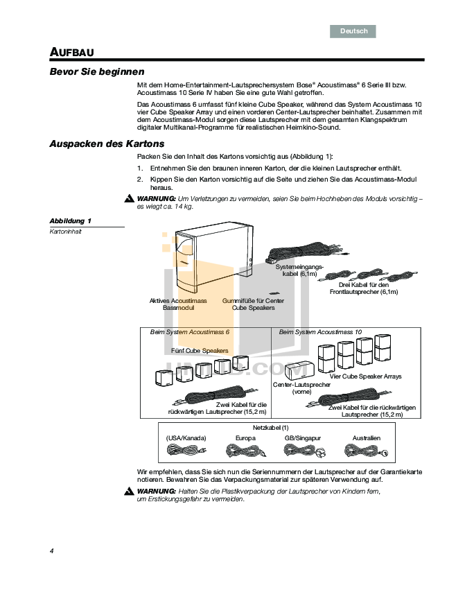 Modern Bose Acoustimass 10 Wiring Diagram Picture Collection ...