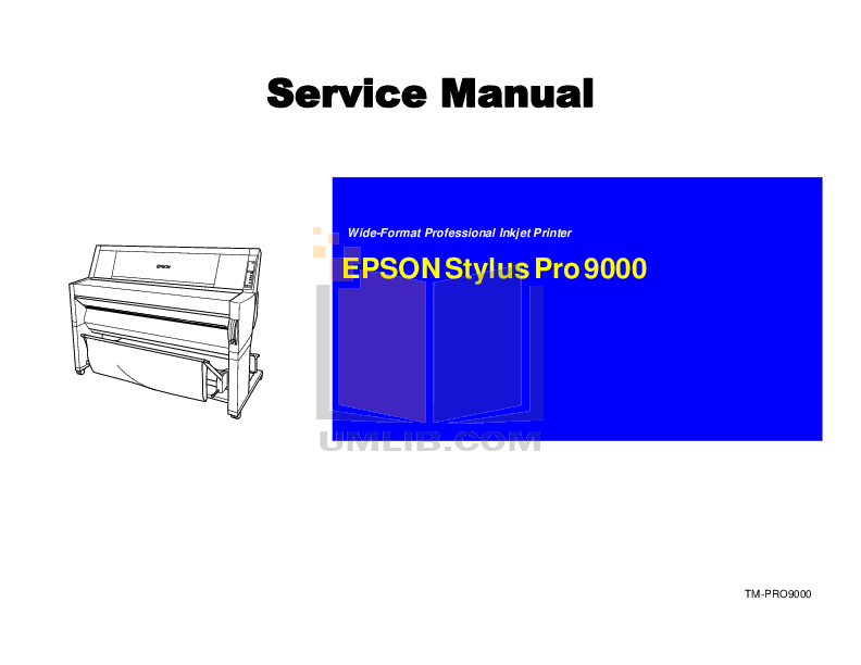 pdf for Epson Printer Stylus Pro 7890 manual