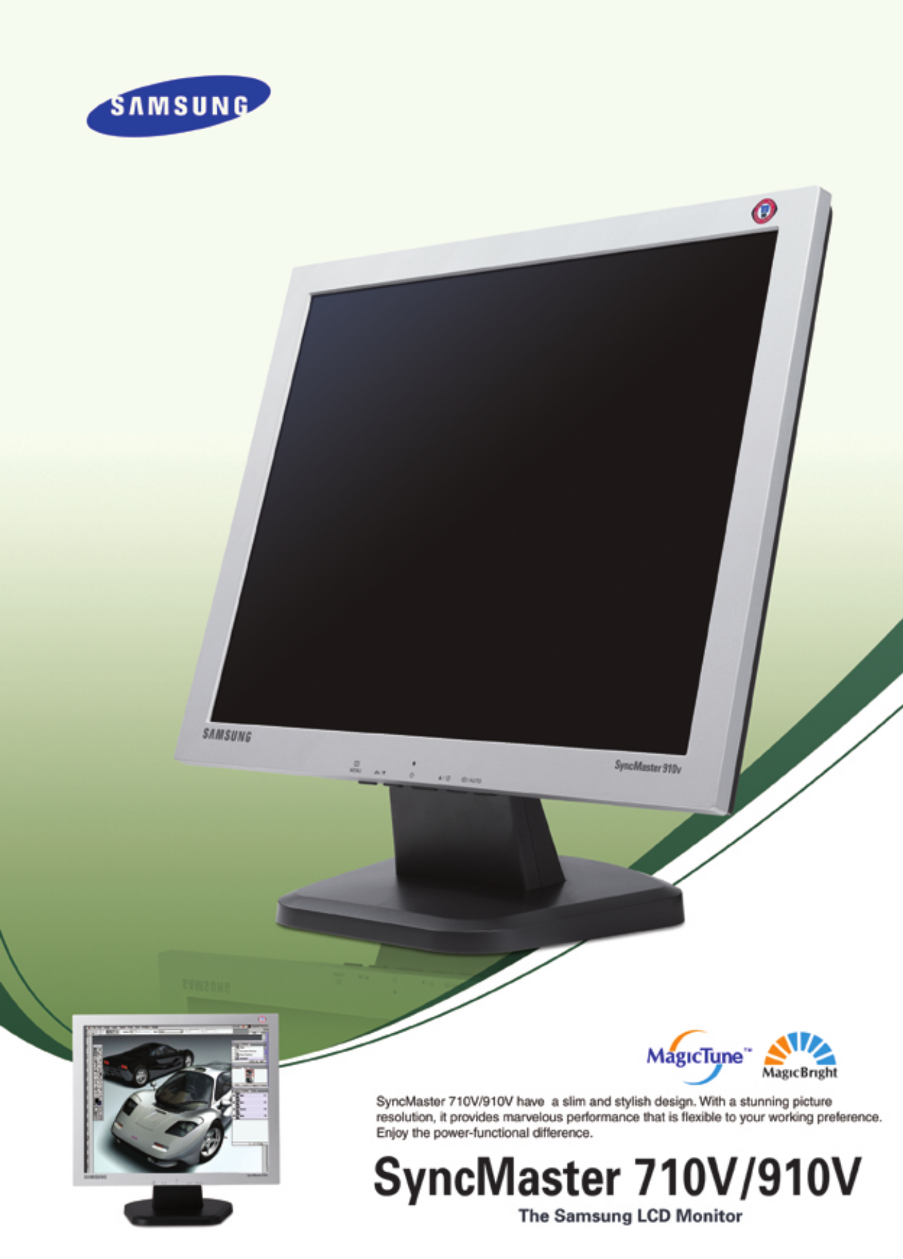 Samsung SyncMaster 2433BW - LCD monitor - 24 Specs