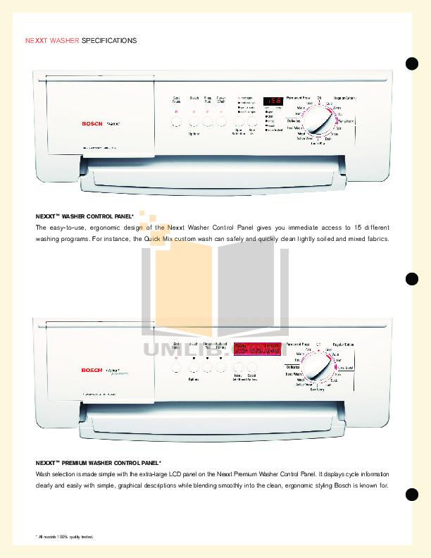 download free pdf for bosch axxis wtl5410uc dryer manual rh umlib com Operators Manual Owner's Manual