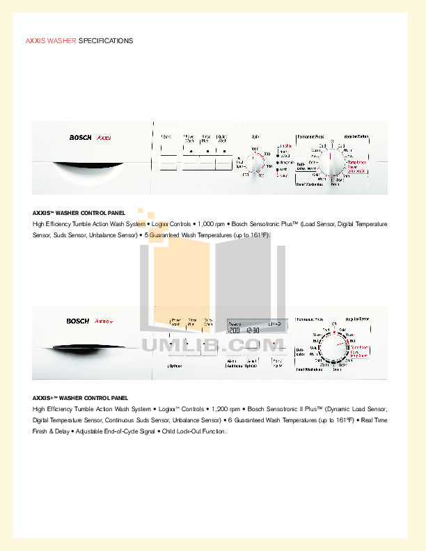 pdf manual for bosch dryer axxis wtl5410uc rh umlib com Instruction Manual Example User Manual PDF