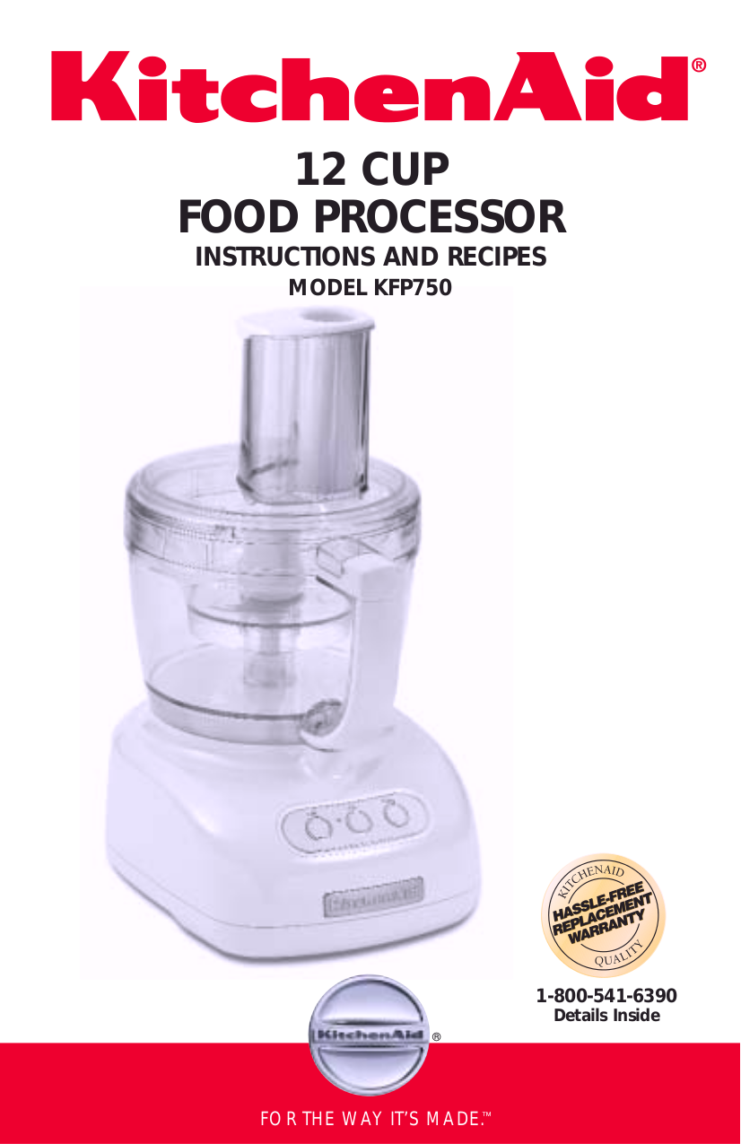Download free pdf for kitchenaid kfp750 food processor manual pdf for kitchenaid food processor kfp750 manual forumfinder Gallery