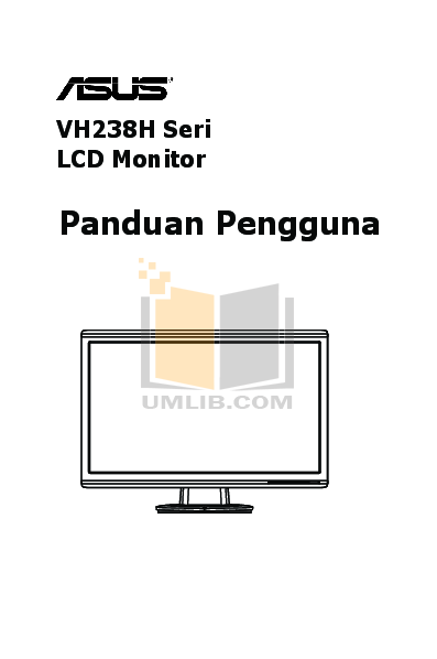 Asus Monitor VH238H pdf page preview