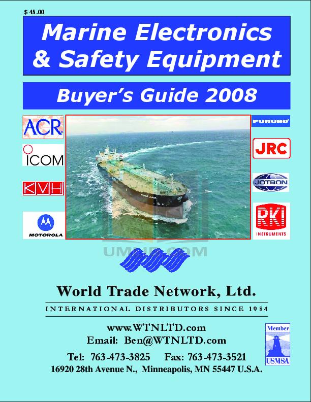 pdf for Furuno Other 1964C Marine Radar manual