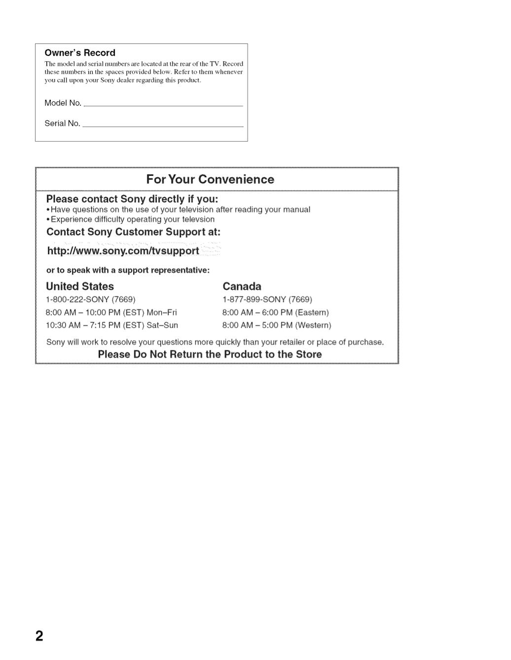 PDF manual for Sony TV BRAVIA KDL-32S2400