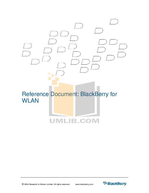 pdf for Blackberry PDA 7270 manual