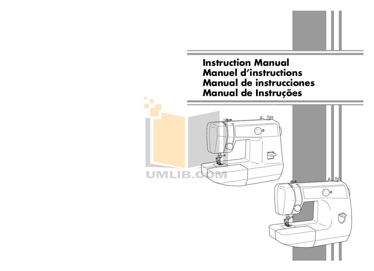 pdf for Brother Other LS-2125 Sewing Machines manual