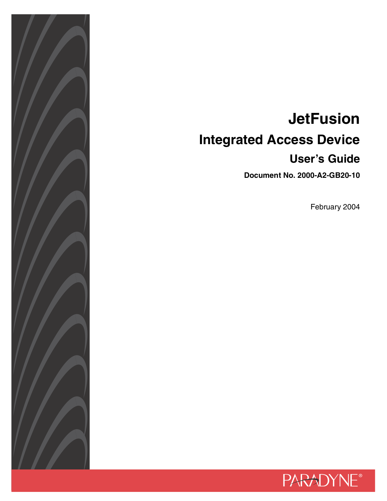 pdf for Zhone Router JetFusion 2208 manual