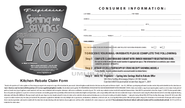 pdf for Frigidaire Refrigerator FSC23F7HB manual