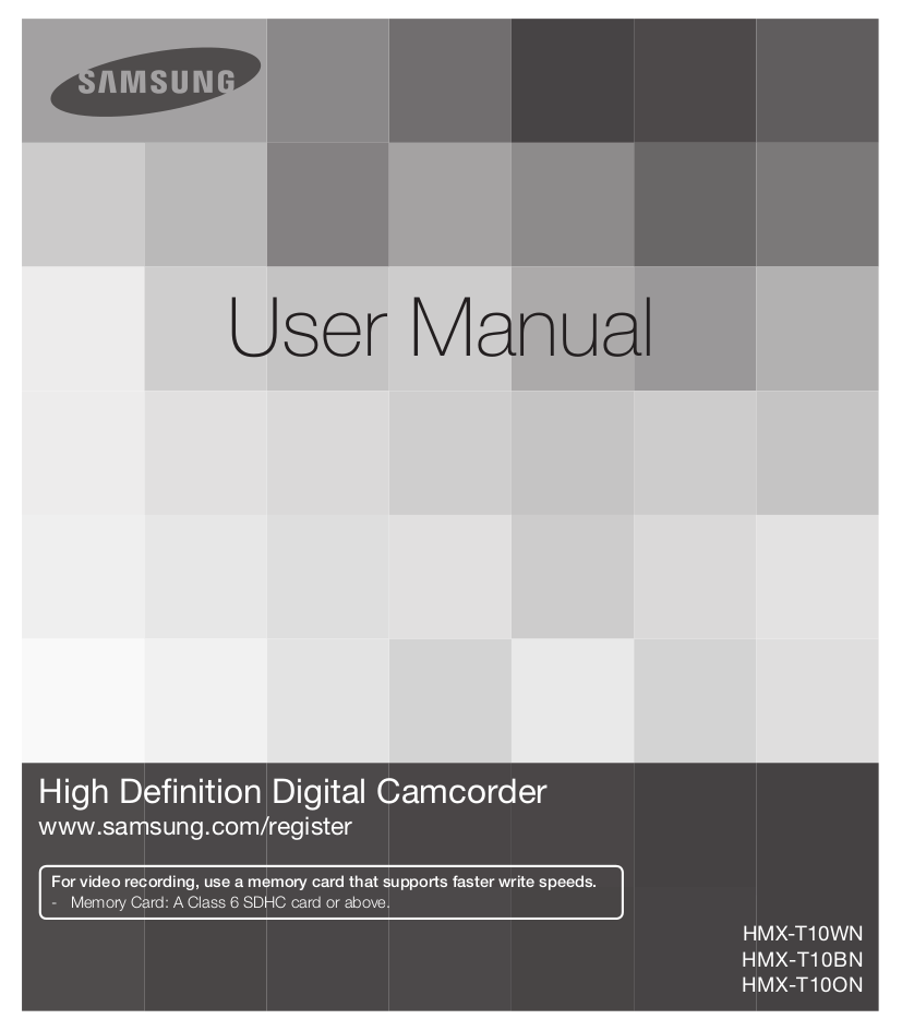 download free pdf for samsung hmx t10 camcorders manual rh umlib com Samsung S10 samsung t10 manual
