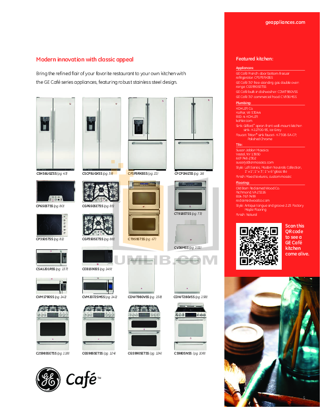 GE Dishwasher GLD4664VSS pdf page preview