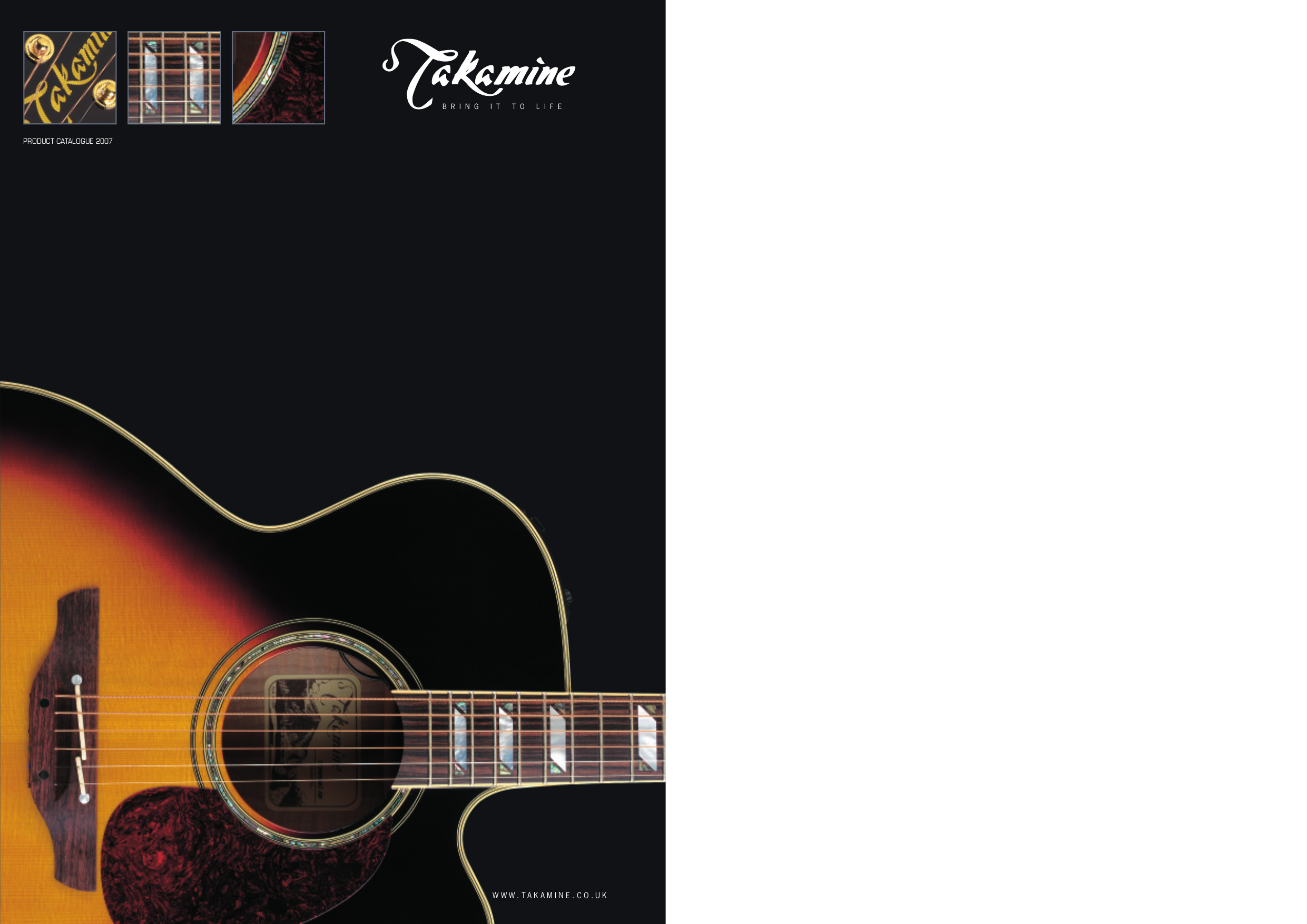 pdf for Takamine Guitar EG340SC manual