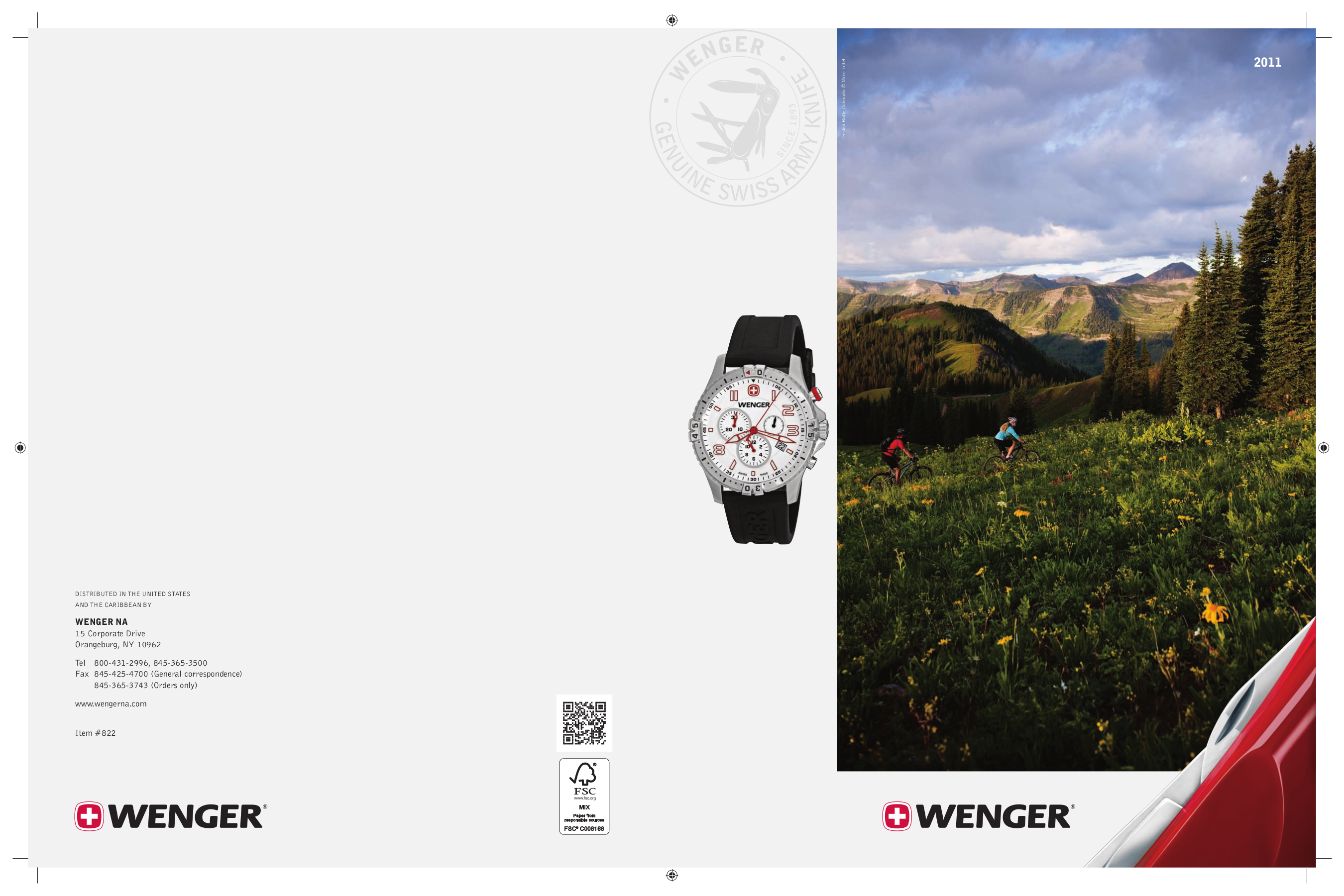 pdf for Wenger Watch 72422 manual