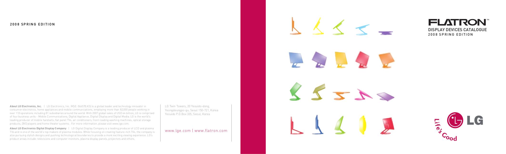pdf for LG Monitor W2052V manual