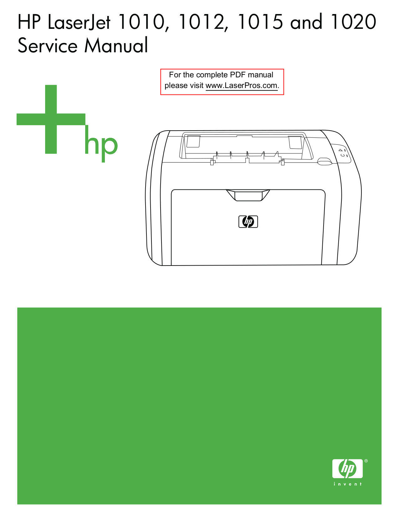 Hp Laserjet Quick Reference Service Manual Pdf Download 1100a Tagshp 4050 User Downloadhp 1018 1100ahp 1100 Hpcom