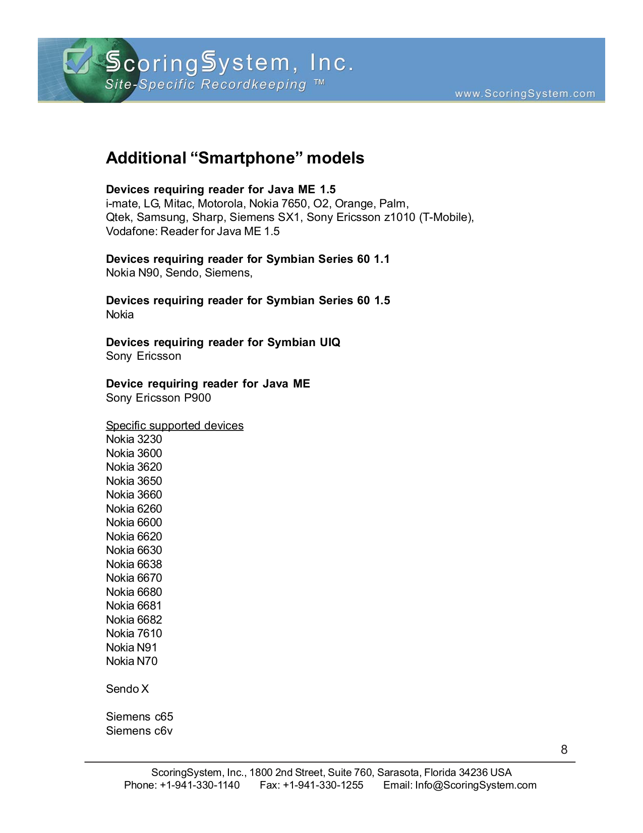 Samsung Cell Phone SPH-I700 pdf page preview