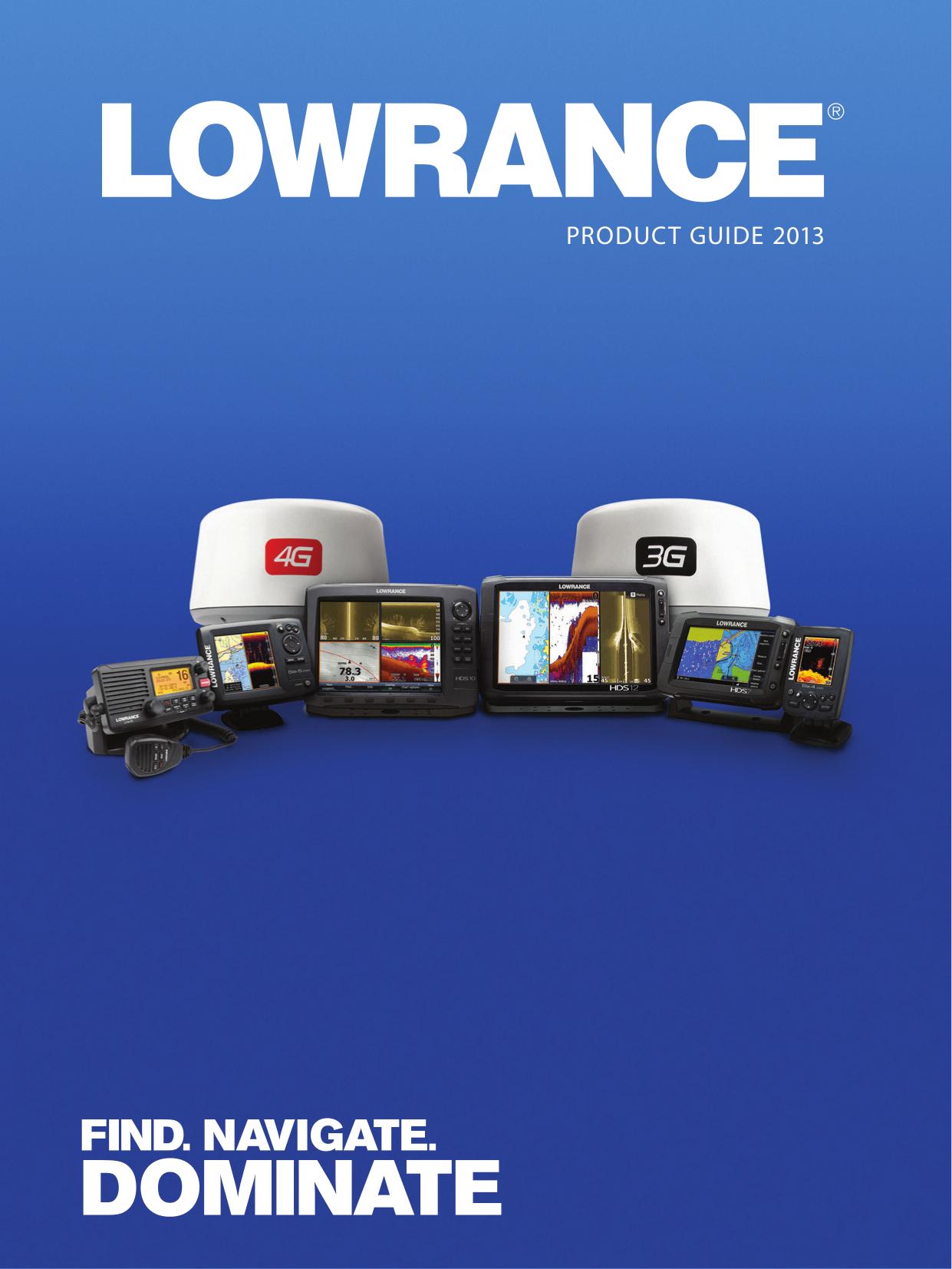 pdf for Lowrance GPS X52 manual