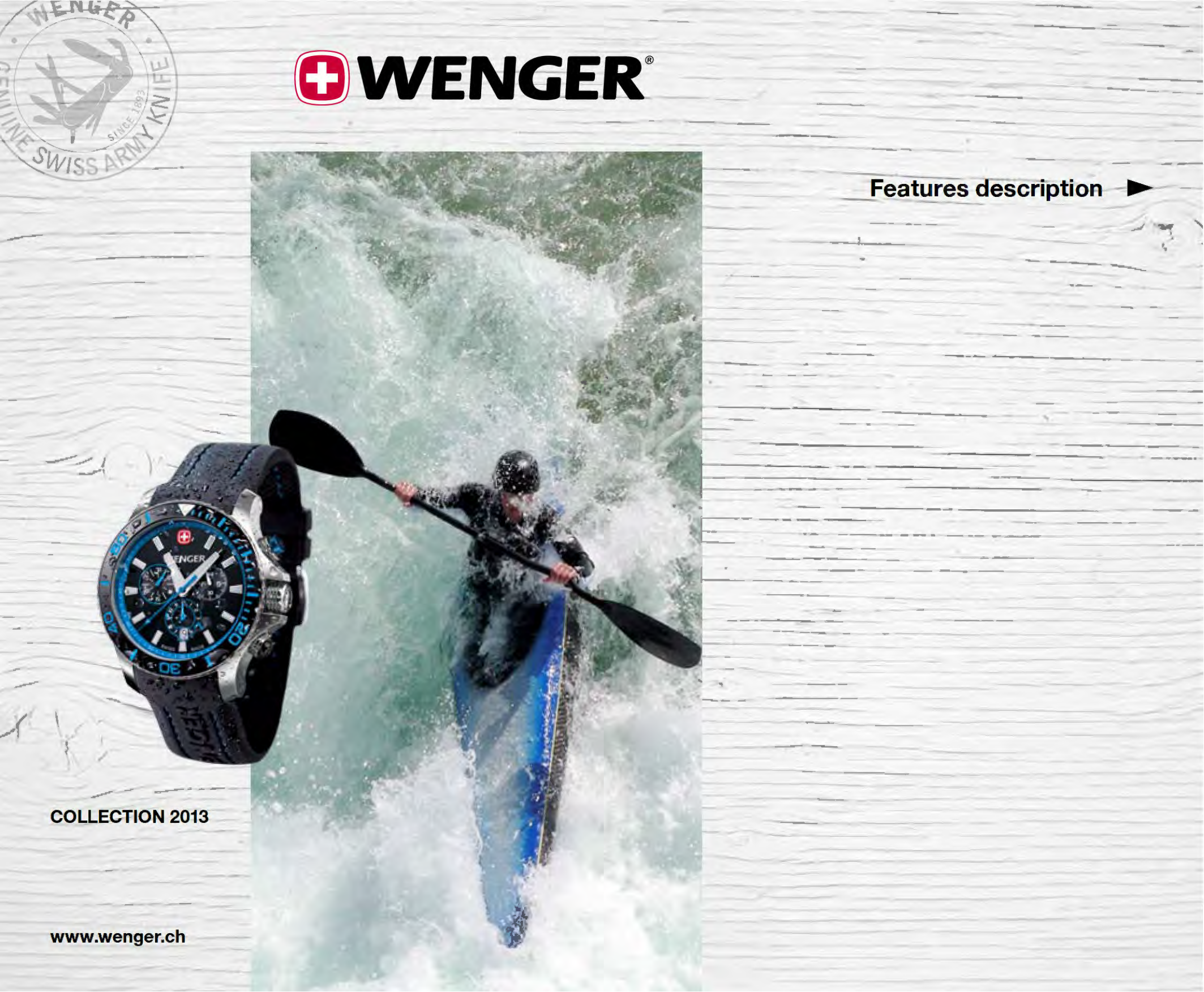 pdf for Wenger Watch 73119 manual