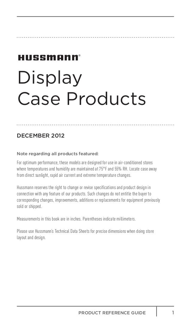 Hussmann Other IMPACT Excel D5X-LE Merchandisers pdf page preview